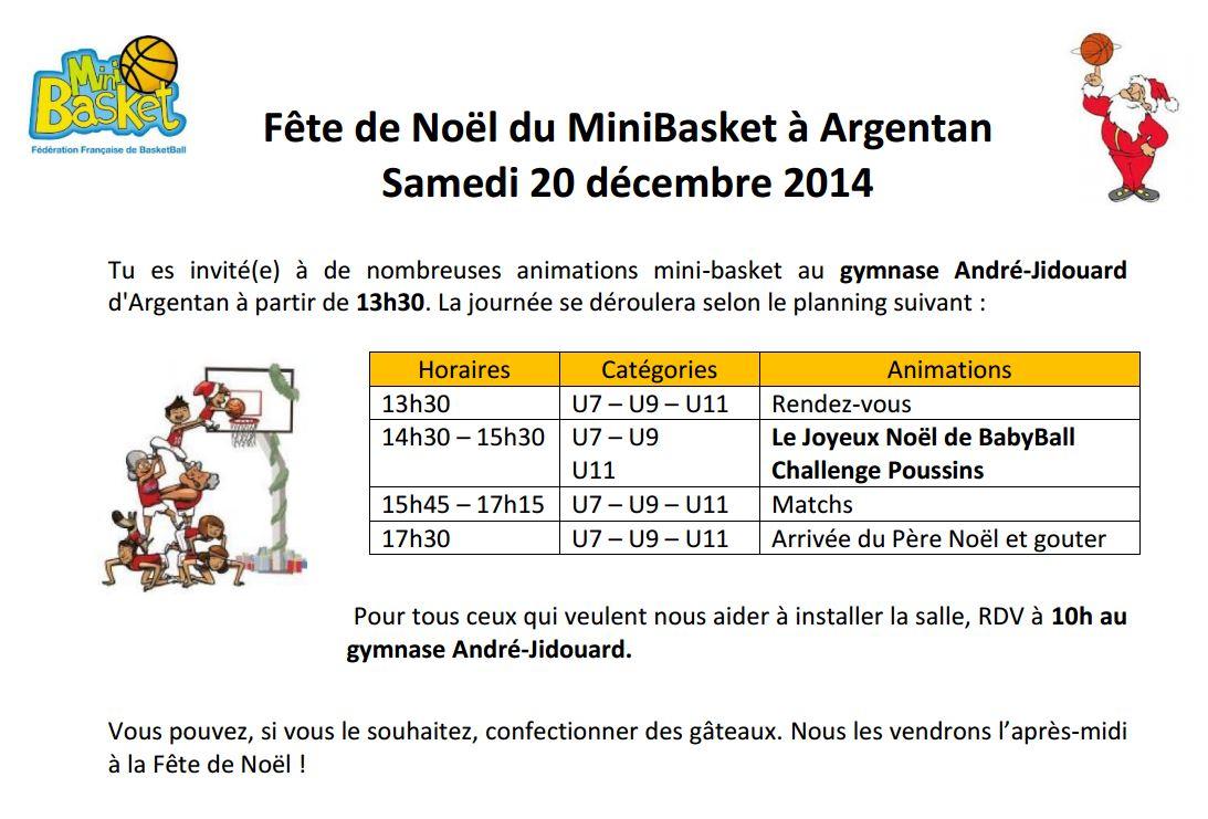 Fete Noel MiniBasket